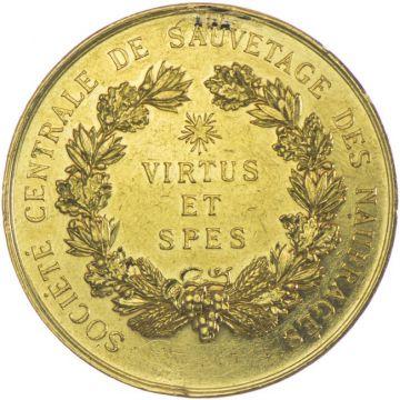 AV-Seenotrettungsmedaille VIRTVS ET SPES 1896