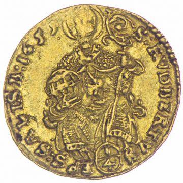 1/4 Dukat 1659 Salzburg 1