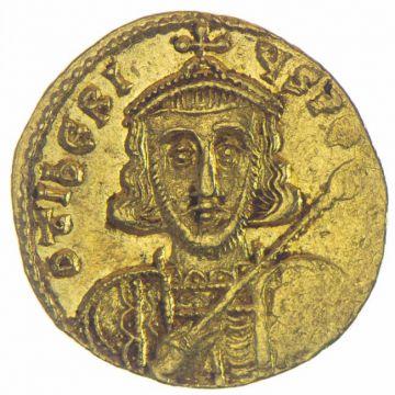 Solidus des Tiberius III. Apsimarus