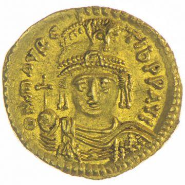 Solidus des Mauricius Tiberius