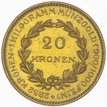 20 Kronen 1924