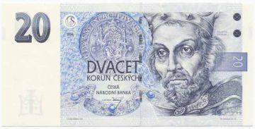 20 Korun ceských 1994 (Otakar I.)