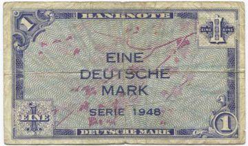 1 Deutsche Mark 1948 (Ornamente)