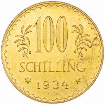 100 Schilling 1934