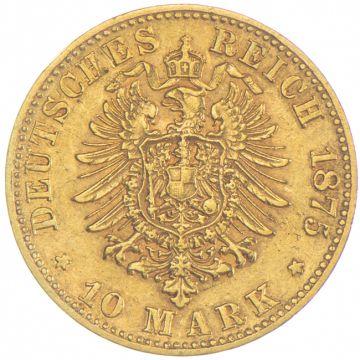 10 Mark 1875 E
