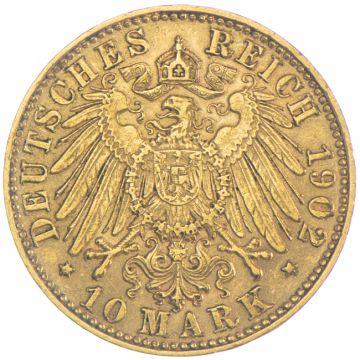10 Mark 1902 E