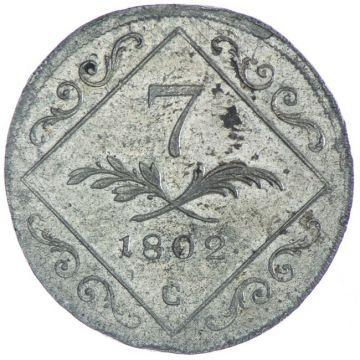 7 Kreuzer 1802 C