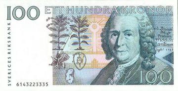 100 Kronor 1995