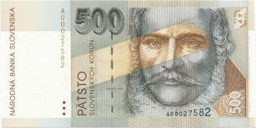 500 Slovenskych Korún 1993 (Stúr)