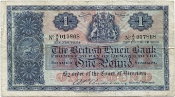 1 Pound 1955 (Wappen)