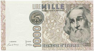 1000 Lire 1982 (Marco Polo)