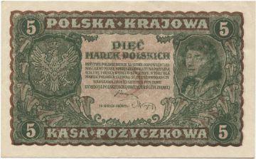 5 Marek Polskich 1919 (Kosciuszko)