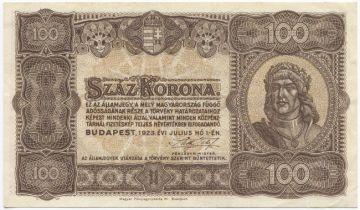 100 Korona 1923 (Matthias Corvinus)