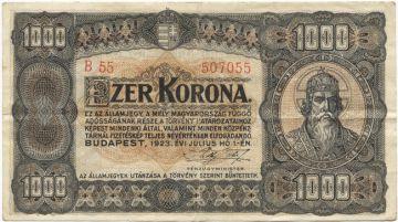 1000 Korona (Szent István)