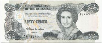 1/2 Dollar 1984 (Elizabeth II)