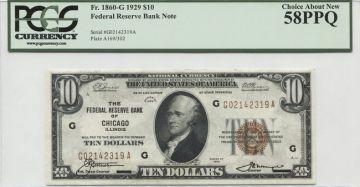 10 Dollars 1929 (Hamilton)