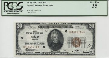20 Dollars 1929 (Jackson)