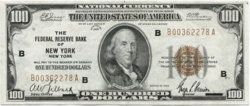 100 Dollars 1929 (Franklin)
