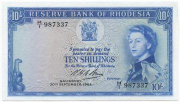 10 Shillings 1964 (Elizabeth II)