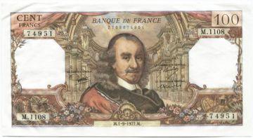 100 Francs 1977 (Corneille)