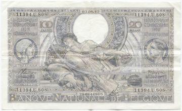 100 Francs 1943 (Albert & Elisabeth)