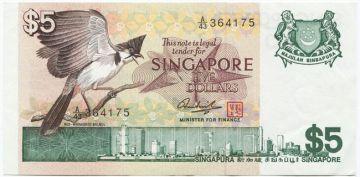 5 Dollars 1976 (Haarvogel)