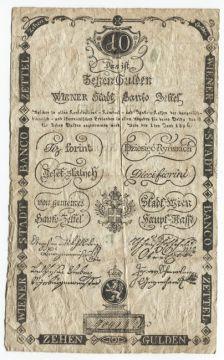10 Gulden 1806 (Banco Zettel)