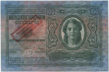 100 Kronen 1920 (Überdruckprovisorium)