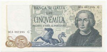 5000 Lire 1971 (Kolumbus)