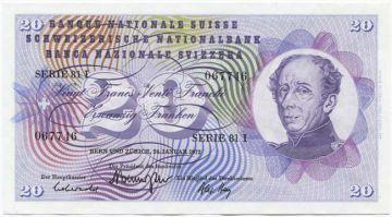 20 Franken 1972 (Dufour)