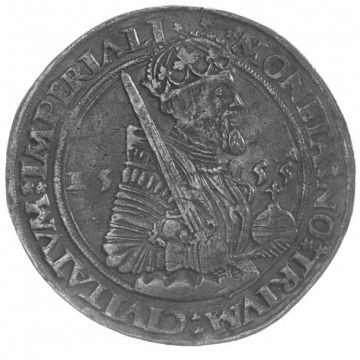 Taler 1555 mit Brustbild Karls V.