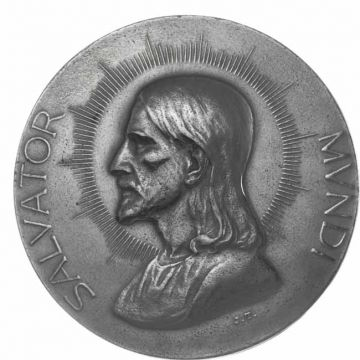Eisenmedaille Salvator Mundi 1917