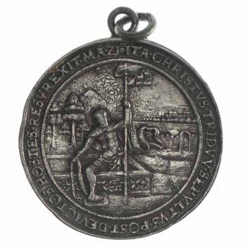 Erzgebirge Medaille (späterer Guß)