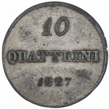 10 Quattrini 1827