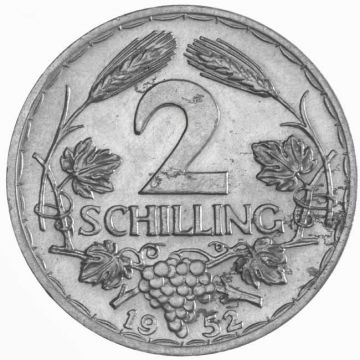 2 Schilling 1952