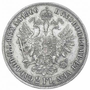 2 Gulden 1866 A