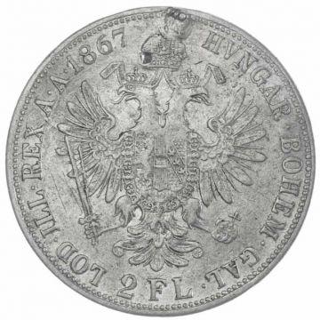 2 Gulden 1867 A