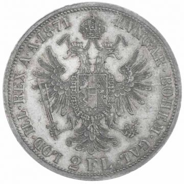 2 Gulden 1871 A