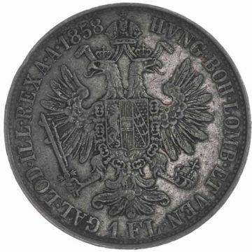 Gulden 1858 M