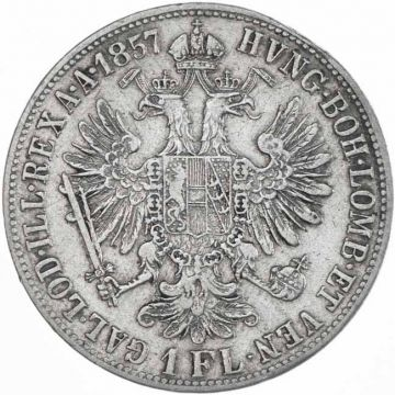 Gulden 1857 E