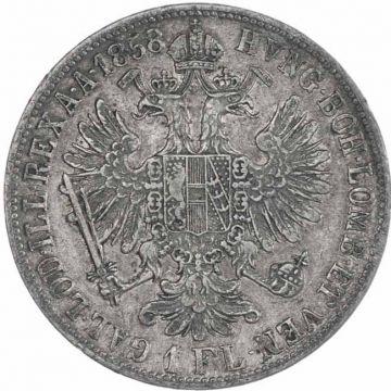 Gulden 1858 B
