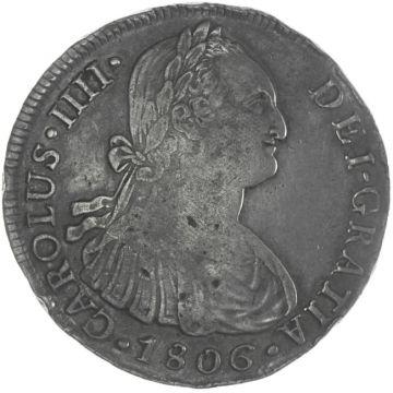 8 Reales 1806 J P