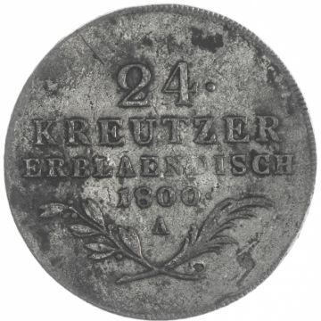 24 Kreutzer Erbländisch 1800 A