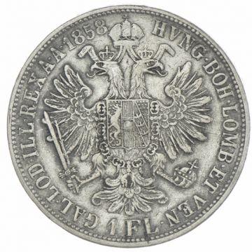 Gulden 1858 V