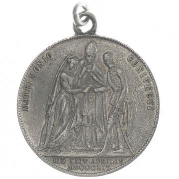 Gulden 1854 A Grüne Hochzeit