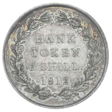 Bank Token 3 Shill. 1812