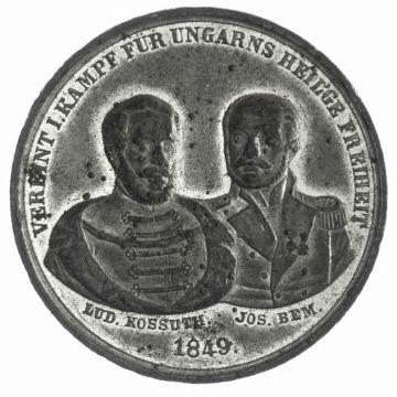 Zinnmedaille 1849