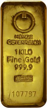 Münze Österreich Goldbarren 1.000 g
