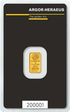 Argor-Heraeus Goldbarren 1 g