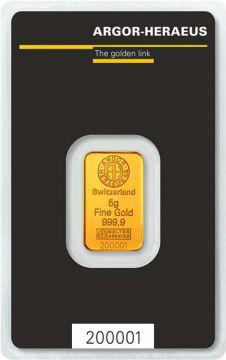 Argor-Heraeus Goldbarren 5 g